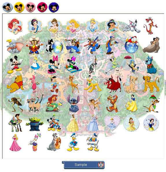 Preview half size for Always Disney game addon