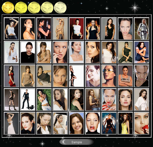 Preview half size for Angelina Jolie game addon