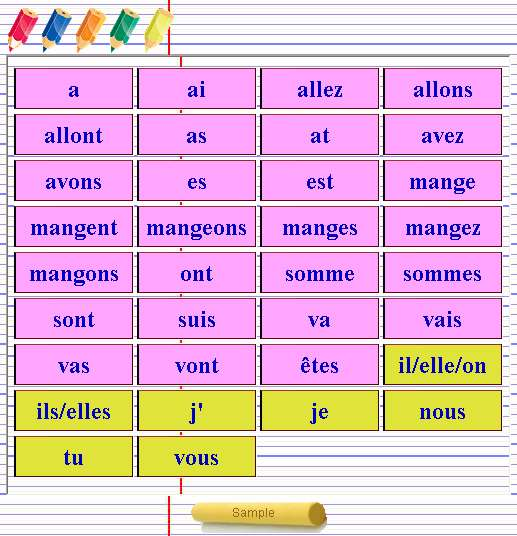 Tour Conjugation French