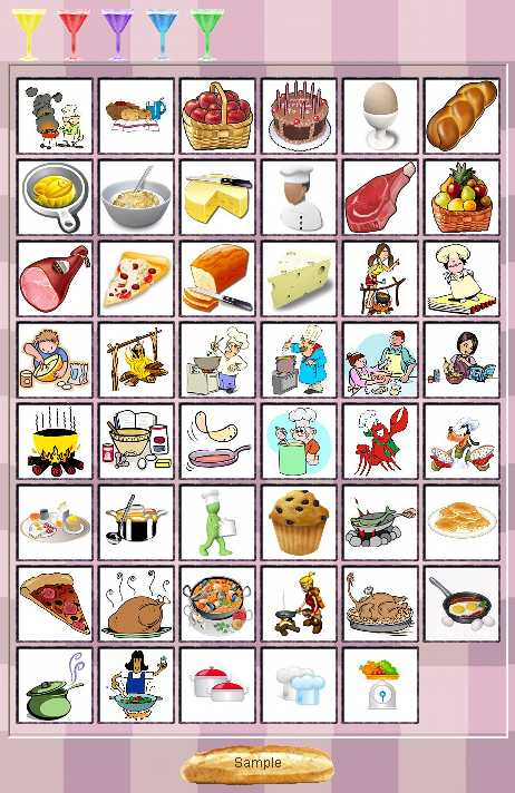 Preview half size for Cooking game addon