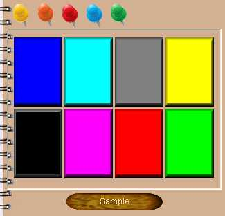 Preview half size for Color game addon