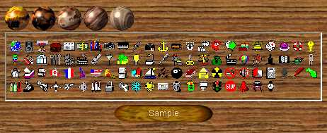 Preview half size for Icons game addon