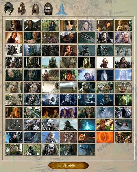Preview half size for The Lord of Rings - Characters game addon