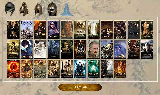 Preview half size for The Lord of Rings - Posters game addon