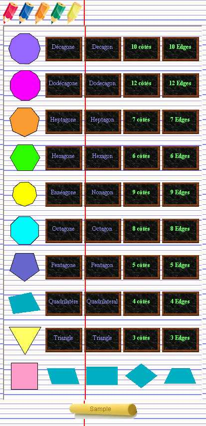 Preview half size for Geometric Shapes game addon