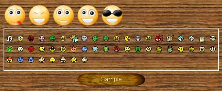 Preview half size for Smileys game addon