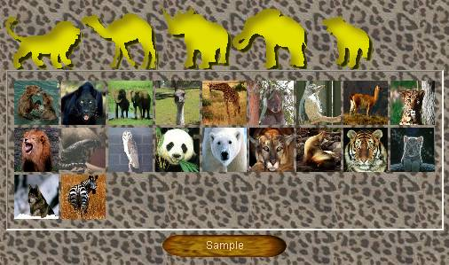 Preview half size for Wildlife (portraits) game addon