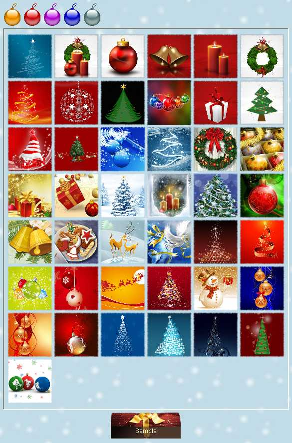 Preview half size for Christmas 2009 game addon
